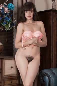 Kate Anne takes off denim skirt to get naked