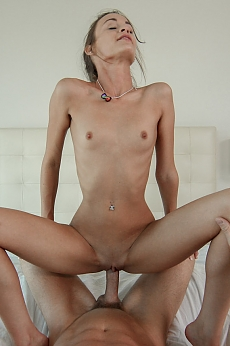 Tiny little Kacy gets fucked by huge cock