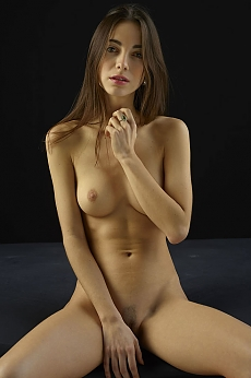 Kiki dark nude studio photography